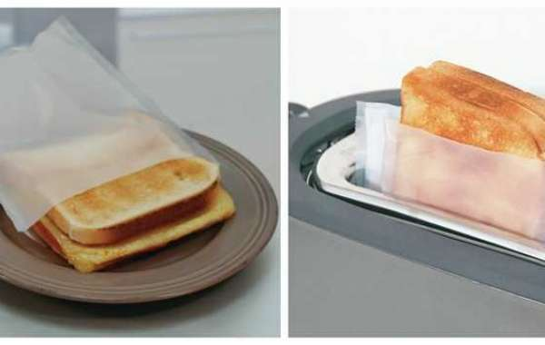 Txyicheng Toaster Bags Help You Toast Sandwich, Veggie Burgers, more
